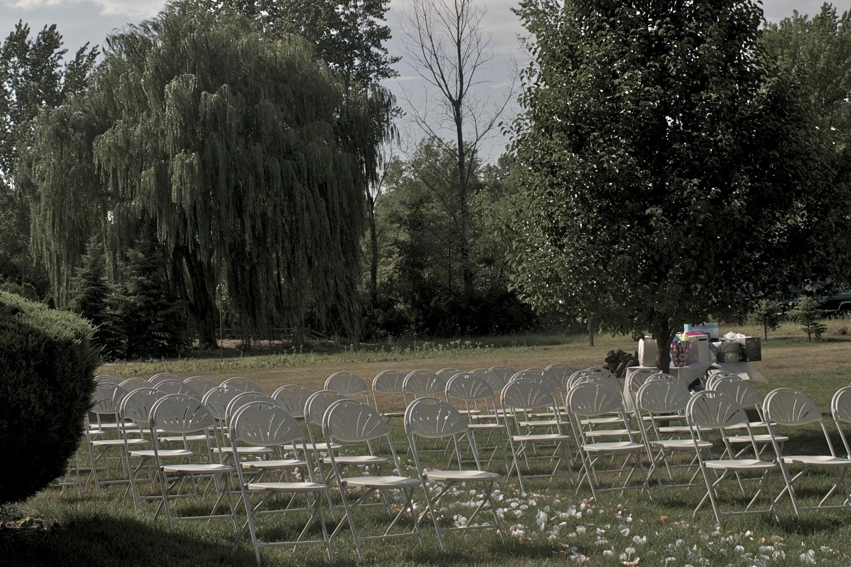 Freelance writer wedding